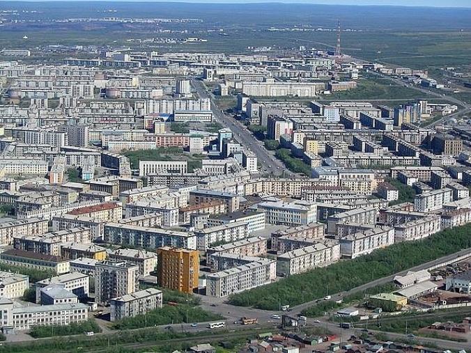 фото города воркута 2016